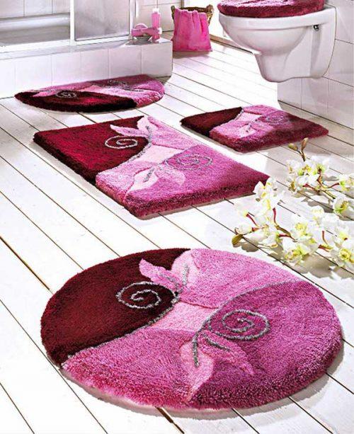 قالیچه فانتزی برای سرویس بهداشتی