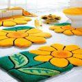 دکوراسیون سرویس بهداشتی خود را با این قالیچه ها بی نظیر و مدرن کنید+تصاویر