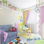 مدرن ترین و جذابترین ایده ها برای اتاق خواب های زیبا و رویایی کودکان + تصاویر