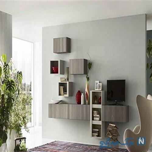 مدرن ترین و شیک ترین مدل های شلف دیواری برای خاص و شیک شدن دکوراسیون خانه شما+تصاویر