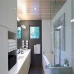 نورپردازی مدرن این بار در دستشویی و حمام ! +تصاویر