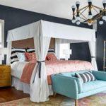 چند رنگ زیبا و متفاوت، برای نقاشی دیوار اتاق خواب +تصاویر