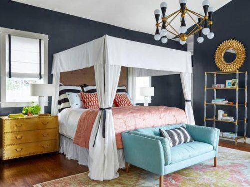 نقاشی دیوار اتاق خواب
