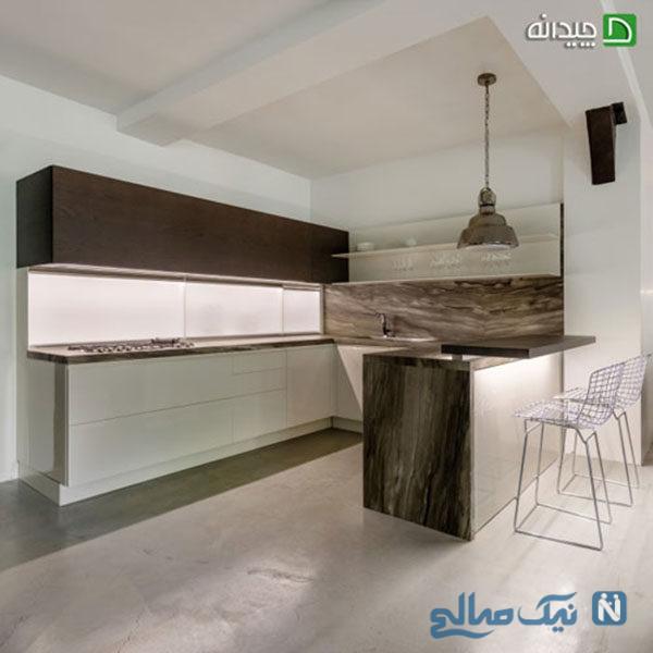 بهترین کابینت آشپزخانه کوچک
