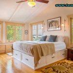 اتاق خواب کوچک را با این ترفندها بزرگ نشان دهید +تصاویر