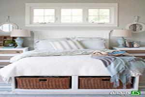 ایده های طبقه بندی و نظم دهی لوازم و وسایل در اتاق خواب های بدون کمد +تصاویر
