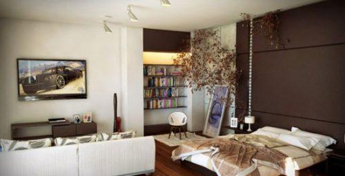 اتاق خواب خلاقانه
