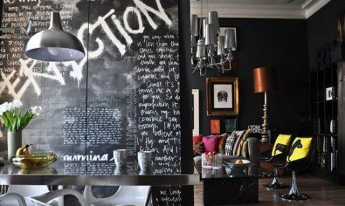 ترکیب رنگ سیاه برای دکوراسیون