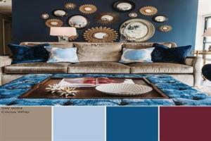 بهترین ترکیب رنگ های پاییزی برای دکوراسیون خانه ای با حال و هوای پاییز کدام است؟ +تصاویر