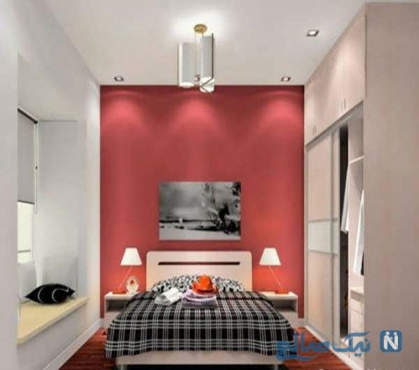 طراحی اتاق خواب عاشقانه