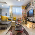 دکوراسیون بسیار زیبای خانه کوچک ندا و حسام +تصاویر