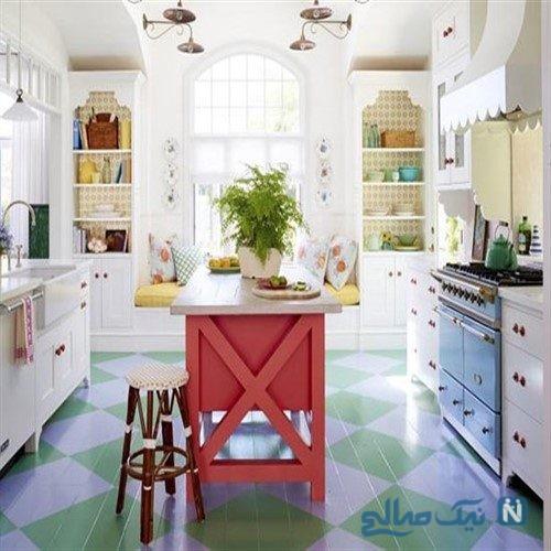 زیباترین رنگ ها برای ساختن دکوراسیونی متفاوت و خاص برای آشپزخانه شما+تصاویر