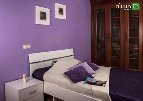 رنگ اتاق خواب نوعروس