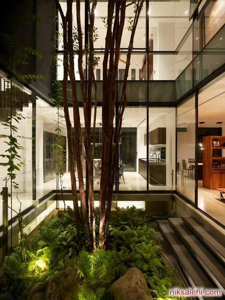 استفاده از فضای سبز در دکوراسیون داخلی منزل + تصاویر دیدنی