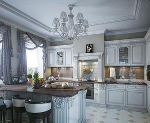 مدل های پرده آشپزخانه