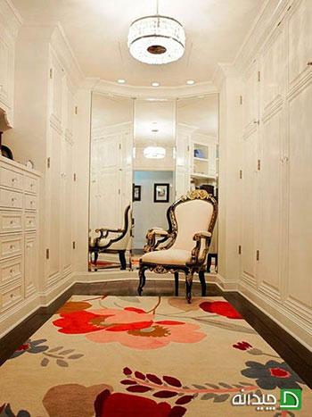 فرش در دکوراسیون منزل قوانینی دارد، که باید رعایت کنید +تصاویر
