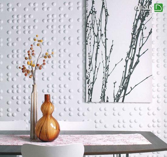 جدیدترین دیوارپوش های سه بعدی و شیک +تصاویر