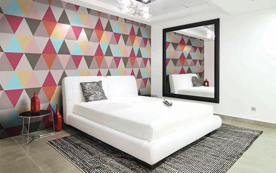 برای شیک شدن دکوراسیون منزل کاغذ دیواری بهتر است یا رنگ؟؟+تصاویر