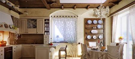 زیباترین مدل های پرده برای آشپزخانه ای دنج و جذاب +تصاویر