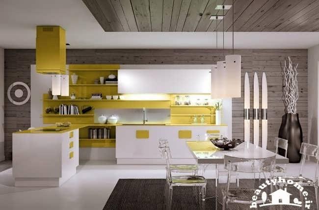 دکوراسیون آشپزخانه با طرح های متفاوت و مدرن + تصاویر