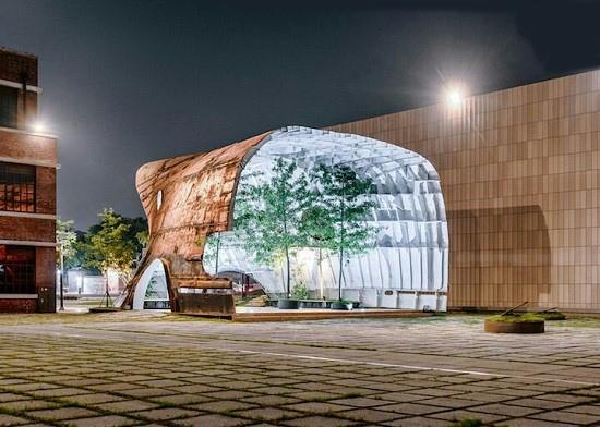 این موزه ملی هنر معاصر و مدرن در کره جنوبی، بدنه ی یک کشتی قدیمی است +تصاویر