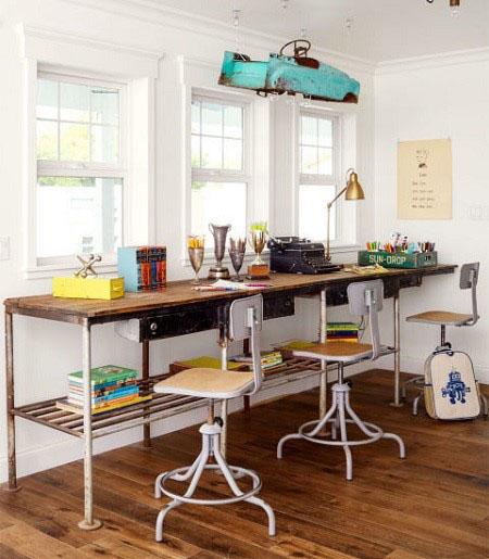 اتاق کارتان را در خانه طراحی کنید +تصاویر