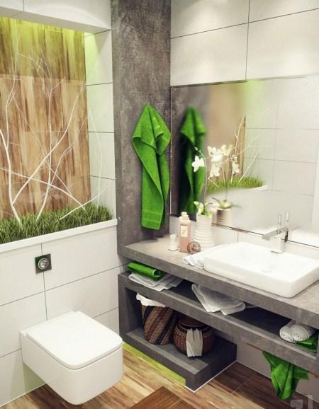 دکوراسیون حمام و دستشویی کوچک + تصاویر
