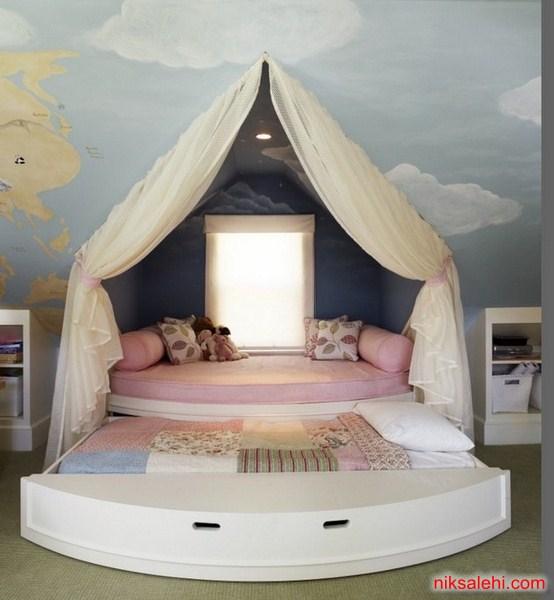 مدل دکوراسیون اتاق خواب کودک جدید ۲۰۱۵ + تصاویر