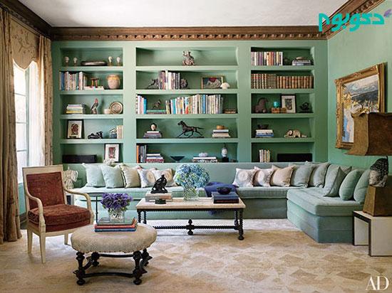 دکوراسیون منزل و ۶ ایده رنگ آمیزی دیوار ها +تصاویر