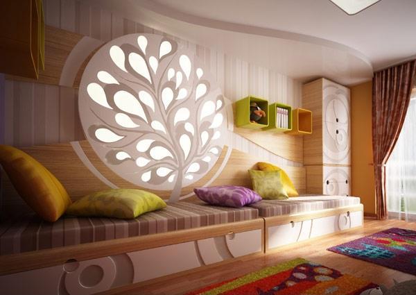 اتاق کودک خود را زیبا و رویایی کنید / حتی با کمترین امکانات + تصاویر
