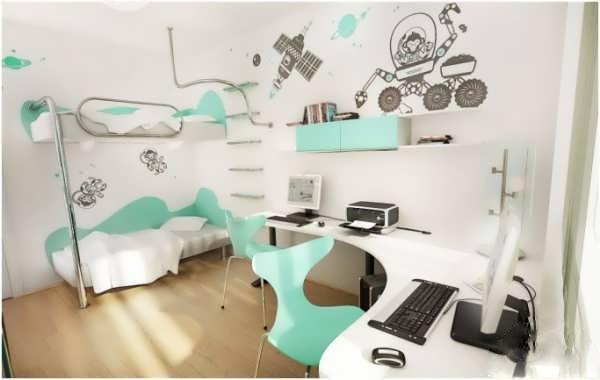 برای طراحی دکوراسیون اتاق مشترک برای کودک دختر و پسر این نکات را حتما رعایت کنید+تصاویر