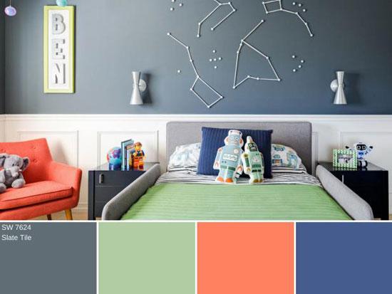 بهترین رنگ ها برای دکوراسیون شیک در پاییز۲۰۱۷/ هرفصل خانه خود را منحصر به فرد کنید+تصاویر