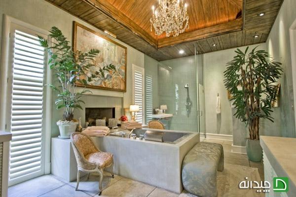 دکوراسیون حمام تان را غرق نور کنید! +تصاویر