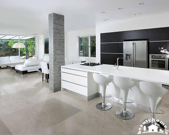 دکوراسیون آشپزخانه اُپن زیبا + تصاویر