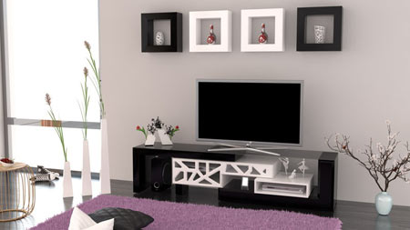 میز ال سی دی مدرن، مناسب اتاق نشیمن شما +تصاویر