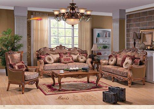 بهترین مبل برای ست کردن با فرش های طرح دار چیست؟ +تصاویر