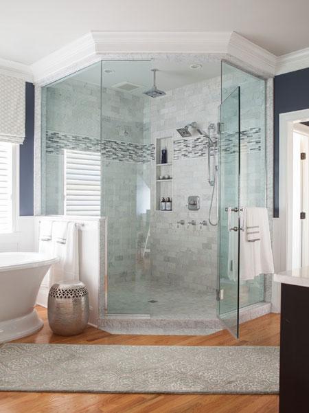 طراحی و دکوراسیون جدیدترین حمام ها + تصاویر