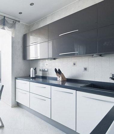 با کابینت سفید آرامش را به آشپزخانه خود بیاورید+ تصاویر
