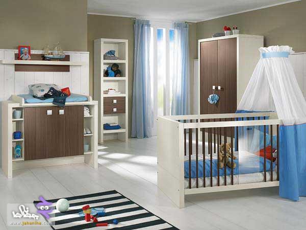 جدیدترین مدل دکوراسیون اتاق نوزاد سال ۲۰۱۶ + تصاویر
