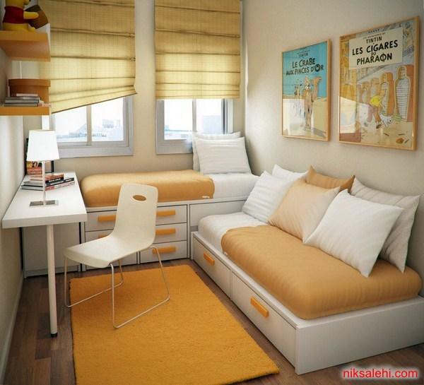 ایده هایی زیبا برای طراحی دکوراسیون اتاق خواب + تصاویر