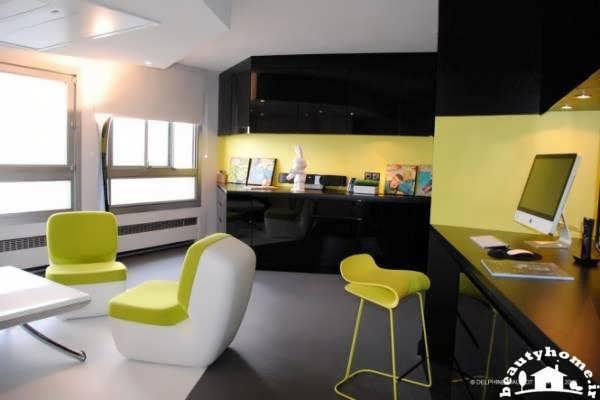 استفاده از رنگ زرد در دکوراسیون داخلی منزل + تصاویر