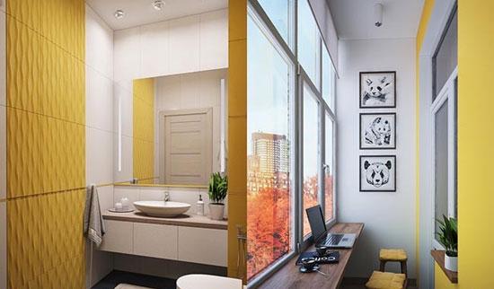دکوراسیون خاص و مدرن را با رنگ زرد داشته باشید+ تصاویر