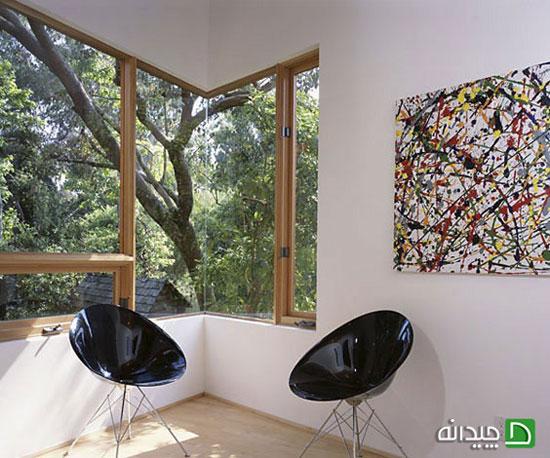 منزل خود را تبدیل به یک گالری هنری کنید +تصاویر