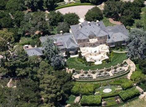 شیک ترین و گران ترین خانه ستاره های هالیوودی +تصاویر