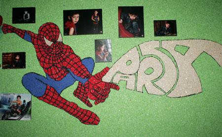 نمونه هائی از تزئین دیواری بلکا + تصاویر