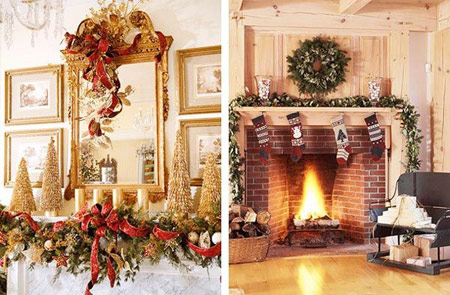 کریسمسی متفاوت را تجربه کنید با چیدمانی متفاوت+تصویر