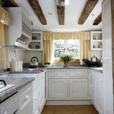با این نکات مهم آشپزخانه کوچک خود را بزرگ کنید+تصاویر