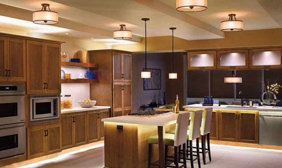 نکات مهمی که قبل از نورپردازی آشپزخانه باید بدانید تا دکوراسیونی منحصربه فرد بسازید+تصاویر