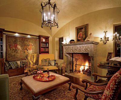 دکوراسیون خانه به سبک اسپانیایی ها زیبا و رمانتیک +تصاویر