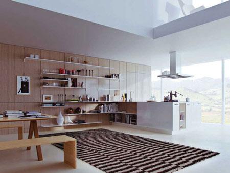 ایده هایی بسیار کاربردی برای اینکه آشپزخانه ی شما به خودی خود، نمایی پاک و تمیز داشته باشد+تصاویر